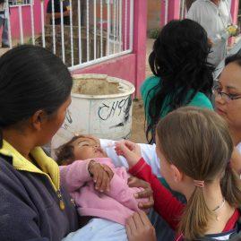 Polio Drops in Hermosillo